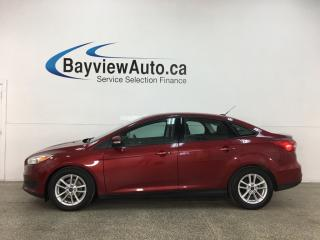 Used 2015 Ford Focus SE - AUTO! A/C! PWR GROUP! 29,000KMS! for sale in Belleville, ON