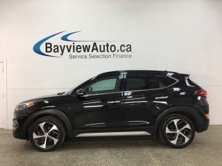 Used 2017 Hyundai Tucson Ultimate - 1.6L TURBO! AWD! PANOROOF! LEATHER! NAV! for sale in Belleville, ON