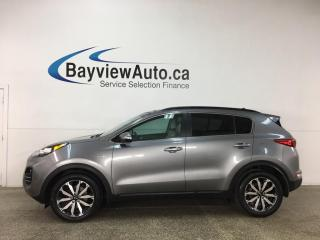 Used 2018 Kia Sportage EX - AWD! PANOROOF! HTD LEATHER! ONLY 13,000KMS! for sale in Belleville, ON