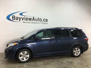Used 2019 Toyota Sienna LE 8-Passenger - 8PASS! PWR DOOR! FULL PWR GROUP! ALLOYS! for sale in Belleville, ON