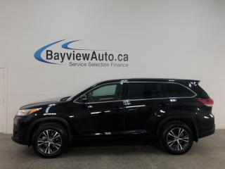 Used 2019 Toyota Highlander LE - AWD! 8 PASS! REVERSE CAM! ALLOYS! FULL PWR GROUP! + MORE! for sale in Belleville, ON