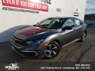 New 2020 Honda Civic LX for sale in Cranbrook, BC