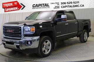 Used 2015 GMC Sierra 2500 HD SLT Crew Cab *LEATHER*SUNROOF*NAV* for sale in Regina, SK