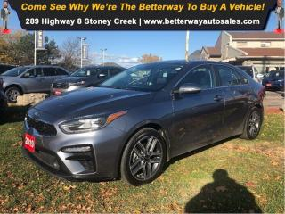 Used 2019 Kia Forte EX | SUNROOF | APPLE CARPLAY |LANE DEPARTURE!! for sale in Stoney Creek, ON