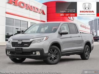 New 2019 Honda Ridgeline Sport SPORT for sale in Cambridge, ON