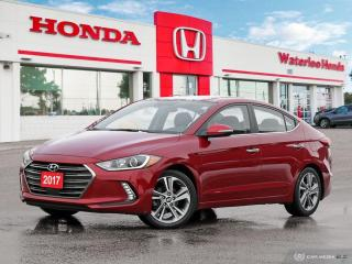 Used 2017 Hyundai Elantra Limited One Owner, Accident Free Loaded Elantra! for sale in Waterloo, ON
