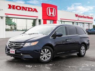 Used 2016 Honda Odyssey EX Honda Certified! Powertrain warranty until 160,000km or 11/17/2022 for sale in Waterloo, ON