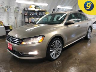 Used 2015 Volkswagen Passat Comfortline * Power sunroof * Leather interior * Power drivers seat * Heated mirrors * Heated front seats * Automatic headlights with fog lights * Dua for sale in Cambridge, ON