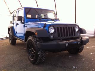 Used 2016 Jeep Wrangler Unlimited Sport WILLYS WHEELER PACKAGE, POWER WINDOWS/LOCKS/MIRRORS, ALPINE AUDIO, MAX TOW PACKAGE for sale in Ottawa, ON