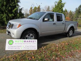 Used 2013 Nissan Frontier SV, CREW, LWB, 4X4, AUTO, INSP, BCAA MBSHP, WARRANTY, FINANCE! for sale in Surrey, BC