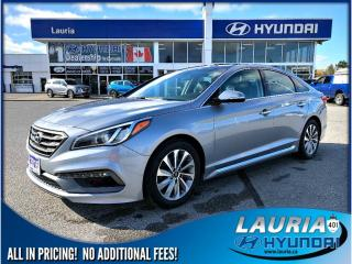 Used 2016 Hyundai Sonata 2.4L Sport Tech for sale in Port Hope, ON