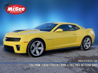 Used 2015 Chevrolet Camaro ZL1 CURRENTLY IN HEATED STORAGE - 6.2L, Auto, Perform Exhaust, Rmt Start, Rear Cam, 20