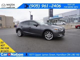 Used 2018 Mazda MAZDA3 GT | REAR CAM | HEATED SEATS | BLUETOOTH | LOW KMS for sale in Hamilton, ON