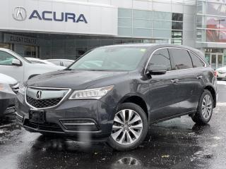 Used 2016 Acura MDX Navigation Package TECH | TINT | NAVI | DVD | BOUGHTHERE | for sale in Burlington, ON