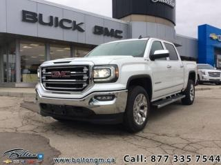 Used 2018 GMC Sierra 1500 SLT - Leather Seats - Leather Seats - $389 B/W for sale in Bolton, ON