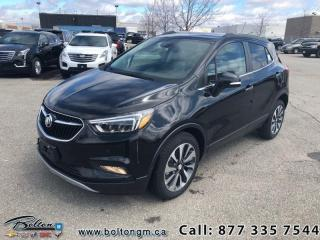 New 2019 Buick Encore - Leather Seats - Essence for sale in Bolton, ON