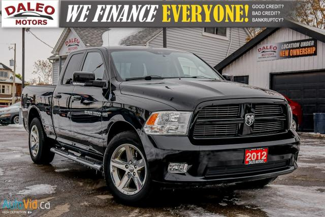 2012 RAM 1500 Sport | LEATHER | SUNROOF | HEATED/COOLED SEATS
