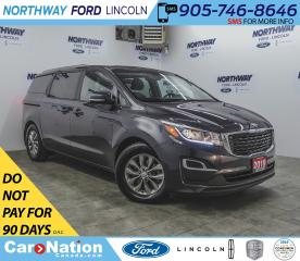 Used 2019 Kia Sedona LX | HTD SEATS | BACK UP CAM | 3 ROW | for sale in Brantford, ON
