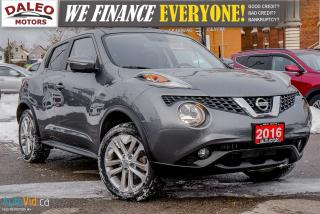 Used 2016 Nissan Juke SL | AWD | LEATHER | NAVI | MOONROOF for sale in Hamilton, ON