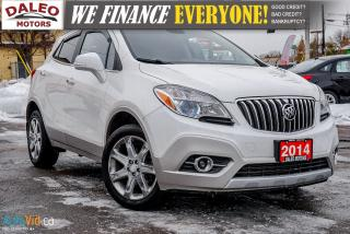 Used 2014 Buick Encore AWD | LEATHER | BACKUP | BLUETOOTH for sale in Hamilton, ON