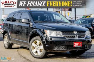 Used 2015 Dodge Journey CVP | PUSH BUTTON START | DUAL CLIMATE CONTROL for sale in Hamilton, ON