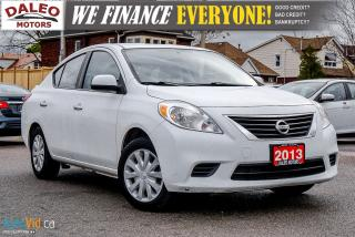 Used 2013 Nissan Versa S | for sale in Hamilton, ON