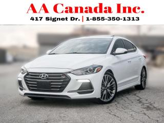 Used 2018 Hyundai Elantra Sport |NAVI|LEATHER|ACCIDENTFREE|ONEOWNER| for sale in Toronto, ON
