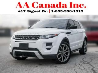 Used 2015 Land Rover Range Rover Evoque Dynamic |REDLEATHER|NAVI|PANOROOF| for sale in Toronto, ON