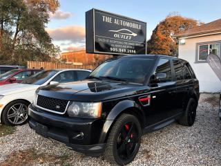 Used 2013 Land Rover Range Rover Sport SC AWD LOADED NAVI BACK-UP SUNROOF NO ACCIDENT for sale in Mississauga, ON