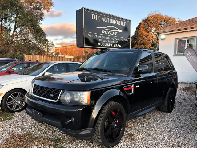 2013 Land Rover Range Rover Sport SC AWD LOADED NAVI BACK-UP SUNROOF NO ACCIDENT