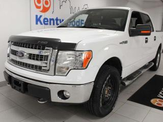 Used 2014 Ford F-150 XLT XTR 4x4 with power drivers seat, keyless entry, trailer assist and a back up cam for sale in Edmonton, AB