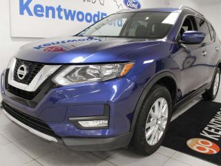 Used 2017 Nissan Rogue SV AWD with a sunroof, power seats, sport and eco mode and a back up cam for sale in Edmonton, AB