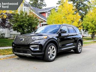 New 2020 Ford Explorer PLATINUM 600A, 4WD, 3.0L Ecoboost, Hands Free Liftgate with Foot Activation, Active Park Assist, Power Heated/Cooled Seats, Heated Steering Wheel, Lane Keeping System, Reverse Camera System, Navigati for sale in Edmonton, AB