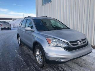 Used 2011 Honda CR-V EX-L Navigation 4WD Sunroof Heated Seats for sale in Red Deer, AB