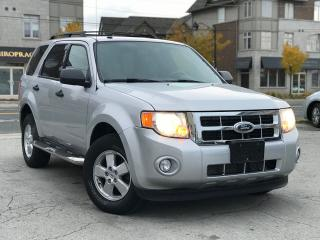 Used 2011 Ford Escape Leather|Acciednt free|One Owner|low MIleage for sale in Burlington, ON