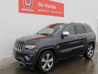 Used 2014 Jeep Grand Cherokee Overland 4WD for sale in Edmonton, AB