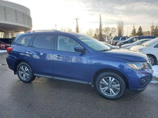 Used 2019 Nissan Pathfinder SV TECH; 7PASS, NAVI, BACKUP CAM, HEATED SEATS AND MORE for sale in Edmonton, AB