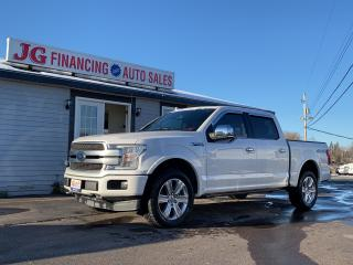 Used 2018 Ford F-150 PLATINUM for sale in Millbrook, NS