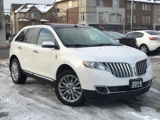 Used 2014 Lincoln MKX Navi|Leather|Sunroof|Accident free|Low Mileage for sale in Burlington, ON