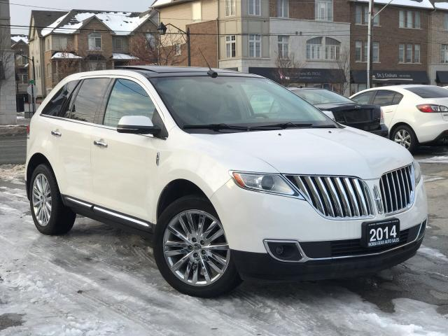 2014 Lincoln MKX Navi|Leather|Sunroof|Accident free|Low Mileage