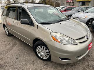 Used 2008 Toyota Sienna CE/ 8 SEATER/ CAPTAIN SEATS/ PWR GROUP & MORE! for sale in Scarborough, ON