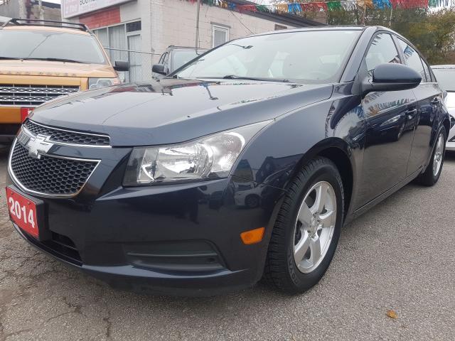2014 Chevrolet Cruze 1LT-EXTRA CLEAN-BK UP CAM-BLUETOOTH-AUX-USB-ALLOYS