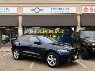 Used 2017 Jaguar F-PACE 35t, Navi, Blind Spot, Pano Roof, B-Cam for sale in Vaughan, ON
