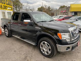 Used 2012 Ford F-150 XLT/ QUAD CAB/ 4X4/ LEATHER/ SUNROOF/ REVERSE CAM for sale in Scarborough, ON
