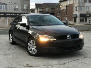 Used 2012 Volkswagen Jetta Manual|Alloy Wheels|Low Mileage|Certified for sale in Burlington, ON