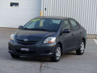 Used 2007 Toyota Yaris POWER OPTIONS, SHOWROOM CONDITION, DEALER SERVICED for sale in Mississauga, ON