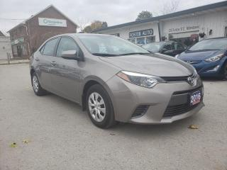 Used 2016 Toyota Corolla LE ECO CVT for sale in Waterdown, ON