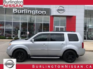 Used 2015 Honda Pilot Touring, NAVIGATION, LEATHER, ACCIDENT FREE ! for sale in Burlington, ON