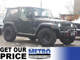 Used 2017 Jeep Wrangler JK Sport with Add Ons for sale in Ottawa, ON