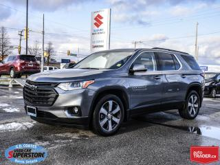 Used 2019 Chevrolet Traverse LT True North AWD 7 Passenger ~Nav ~Heated Leather for sale in Barrie, ON